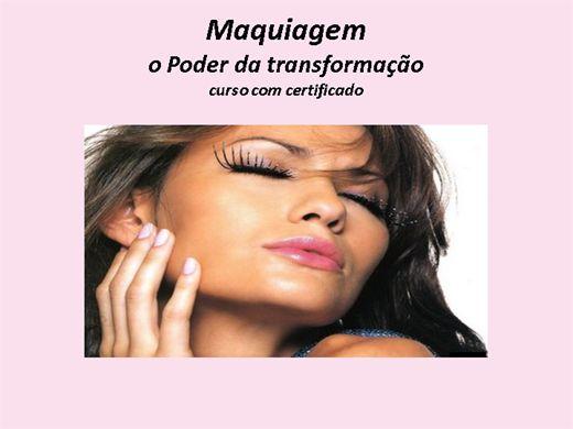 Curso Online de Maquiagem -O poder da transformação