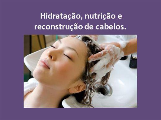 Curso Online de Hidratação, nutrição e reconstrução de cabelos