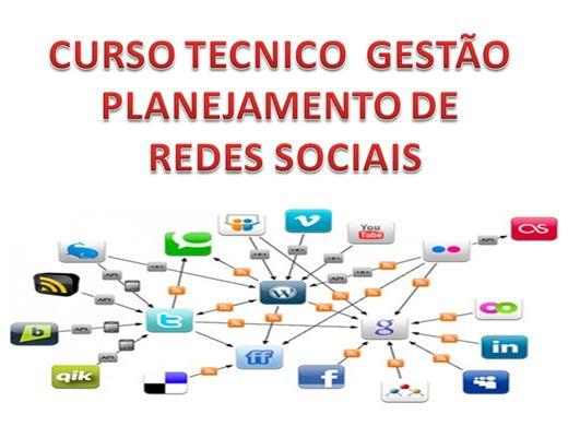 Curso Online de CURSO  GESTAO PLANEJAMENTO REDES SOCIAIS