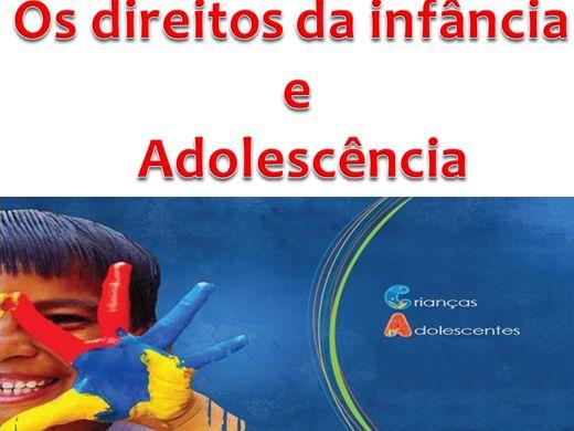 Curso Online de OS DIREITOS DA INFÂNCIA E ADOLESCÊNCIA