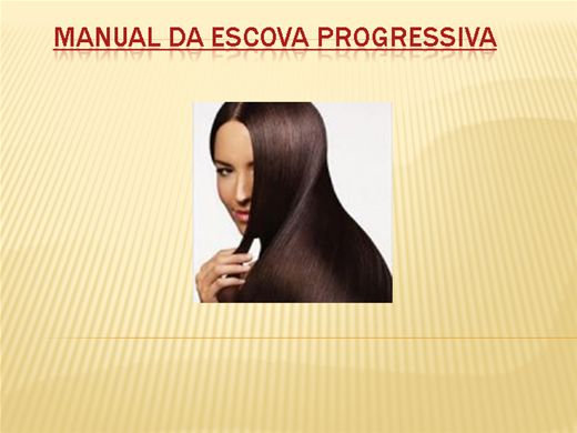 Curso Online de Manual da Escova Progressiva