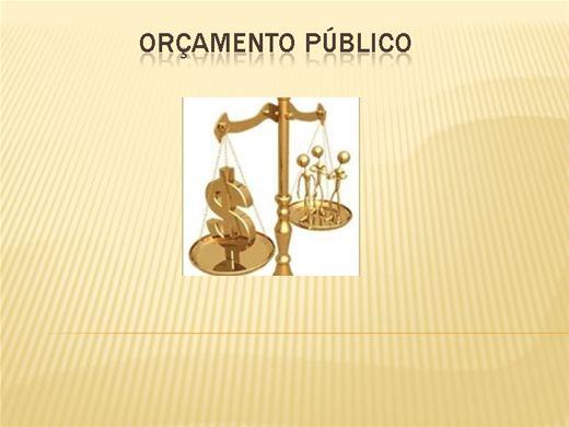 Curso Online de Orçamento Público