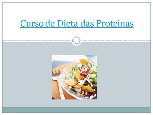 Curso Online de Curso de Dieta das Proteinas