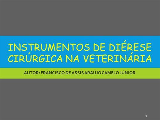 Curso Online de DIÉRESE CIRÚRGICA NA MEDICA VETERINÁRIA