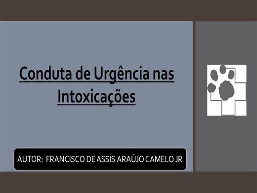 Curso Online de CONDUTA CLÍNICA E CIRÚRGICA DE EMERGÊNCIA NAS INTOXICAÇÕES EM CÃES E GATOS
