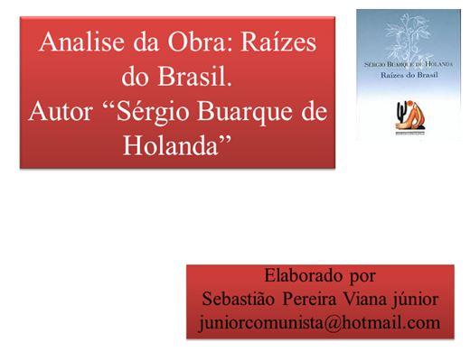 Curso Online de Analise da Obra Raizes do Brasil