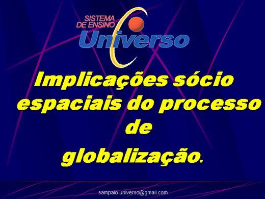 Curso Online de Globalização e Atualidades