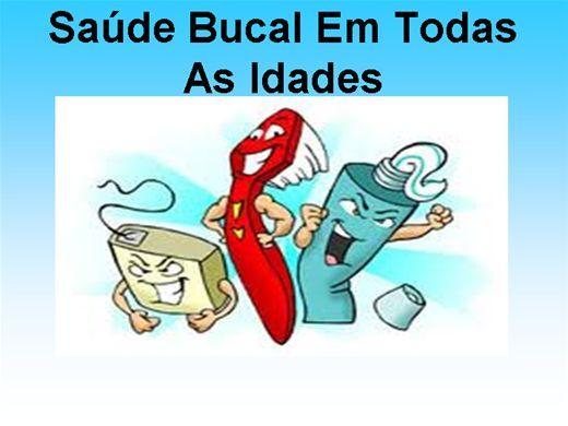 Curso Online de SAÚDE BUCAL EM TODAS AS IDADES