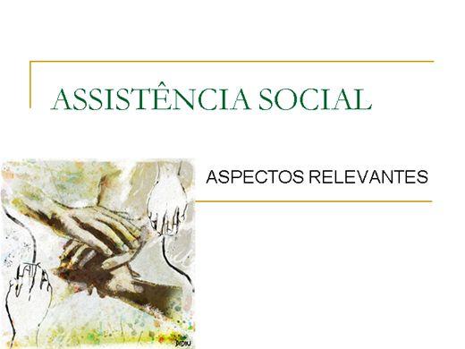 Curso Online de ASSISTÊNCIA SOCIAL