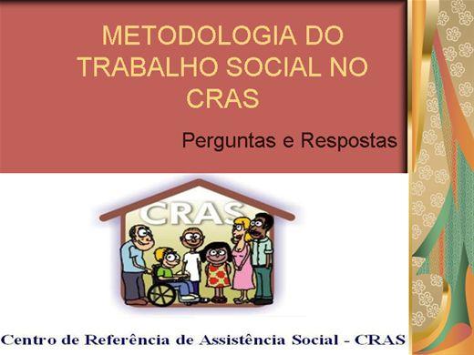 Curso Online de METODOLOGIA DE TRABALHO SOCIAL NO CRAS