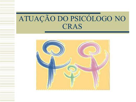 Curso Online de Atuação do Psicólogo no CRAS