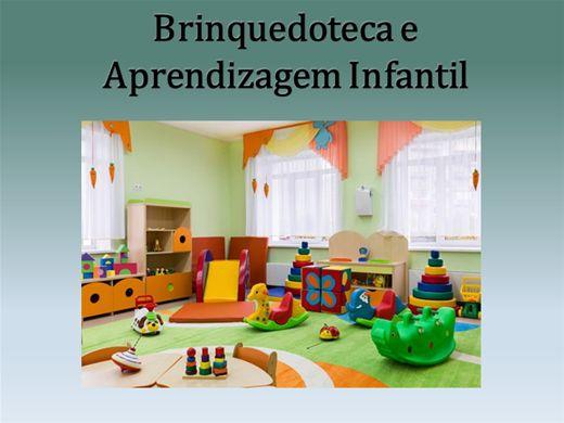 Curso Online de Brinquedoteca e Aprendizagem Infantil - 24 horas