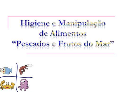 Curso Online de Manipulação e Higiene de pescados