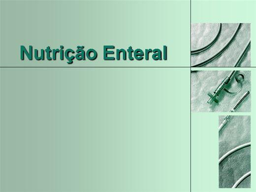 Curso Online de Nutrição Enteral