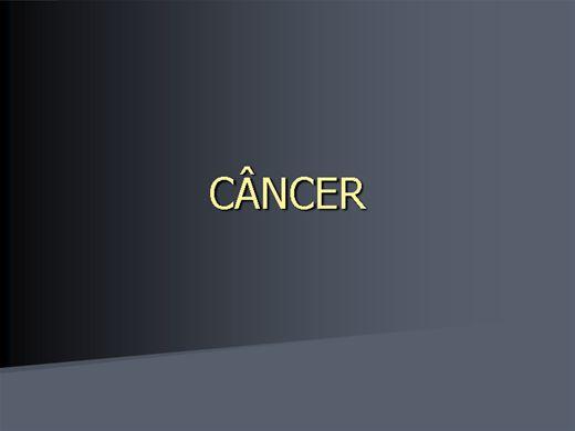 Curso Online de Câncer