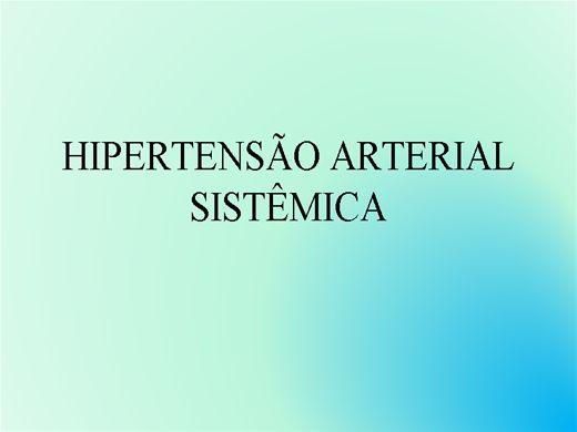 Curso Online de Hipertensão Arterial Sistêmica