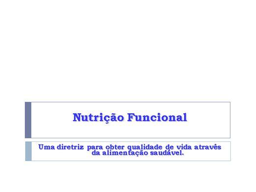 Curso Online de Nutrição Funcional