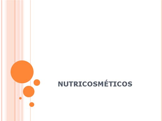 Curso Online de Nutricosmeticos