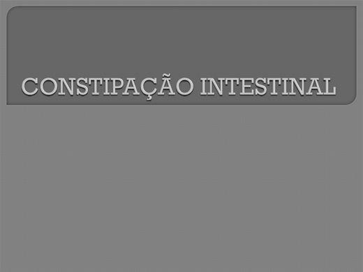 Curso Online de Constipação Intestinal