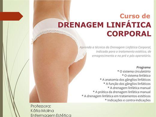 Curso Online de DRENAGEM LINFÁTICA
