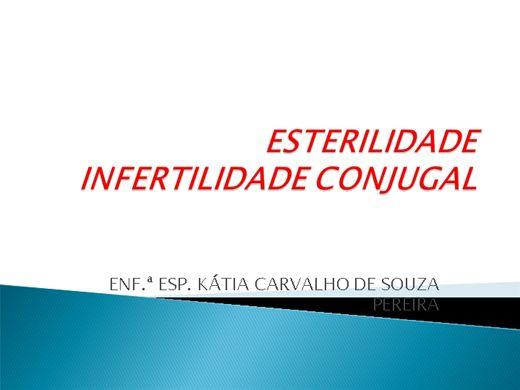 Curso Online de ESTERILIDADE INFERTILIDADE CONJUGAL