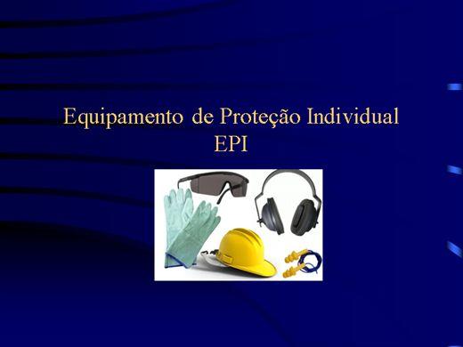 Curso Online de TREINAMENTO DE EPI'S E EPC'S