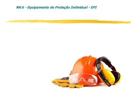 Curso Online de NR 06 TREINAMENTO DE EPI'S