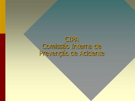 Curso Online de CURSO DE CIPA - COMISSÃO INTERNA DE PREVENÇÃO DE ACIDENTES