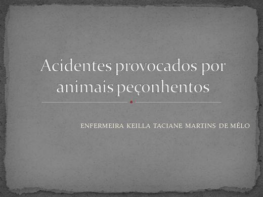 Curso Online de Acidentes com animais peçonhentos