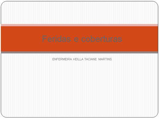 Curso Online de Feridas e Coberturas