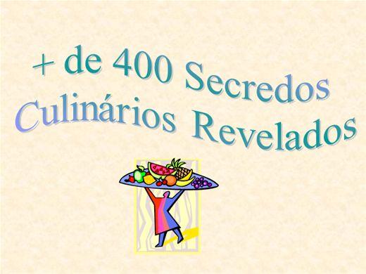 Curso Online de + de 400 Segredos Culináris Revelados