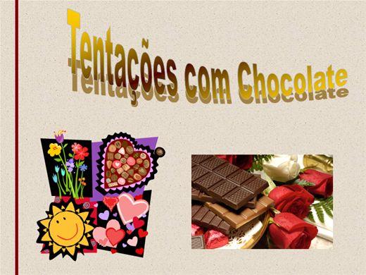 Curso Online de Tentações com Chocolate