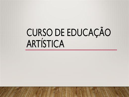 Curso Online de ARTES-AMPLIANDO O CONHECIMENTO