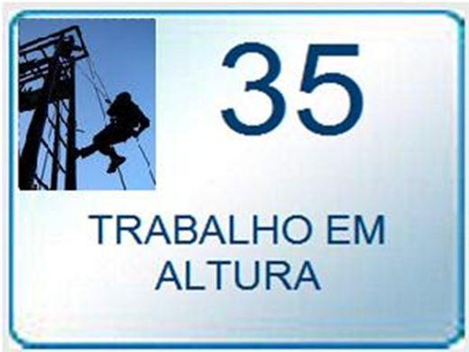 Curso Online de  NR - 35 TRABALHO EM ALTURAS