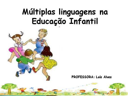 Curso Online de Múltiplas Linguagens na Educação Infantil