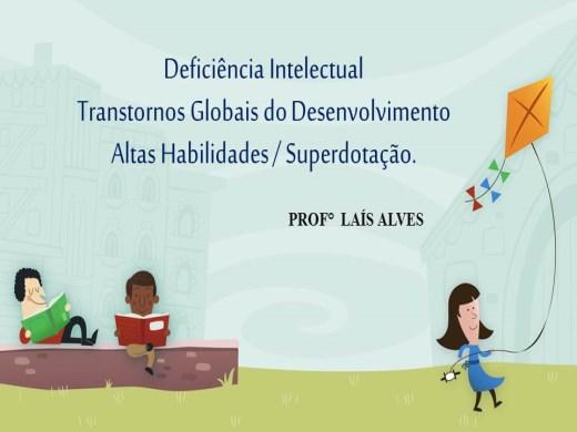 Curso Online de Deficiência Intelectual, Transtornos Globais do Desenvolvimento e Altas Habilidades