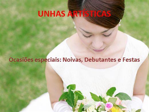 Curso Online de Unhas artísticas - Noivas, Debutantes e Festas.