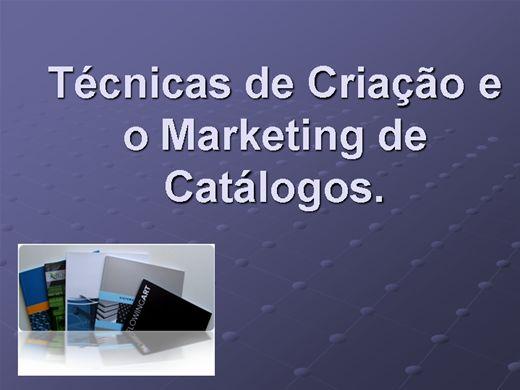 Curso Online de Técnicas de Criação e o Marketing de Catálogos.