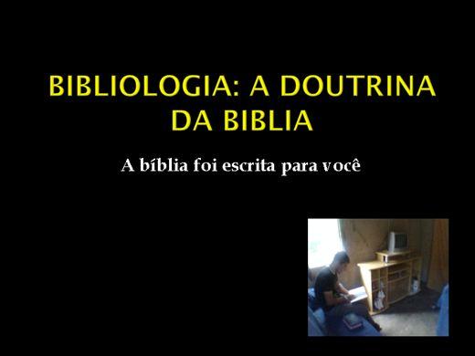 Curso Online de teologia sistemática básico: 10ª matéria: bibliologia