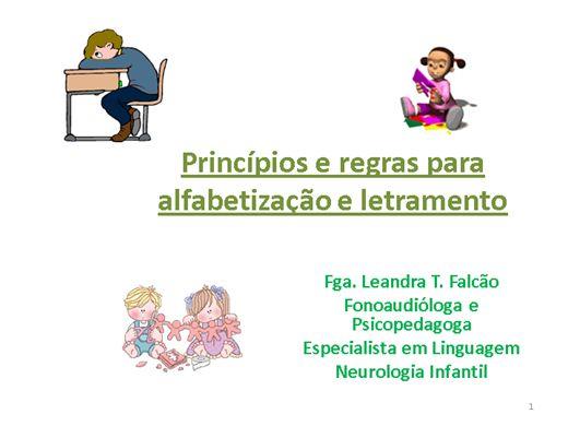 Curso Online de Princípios e Regras para Alfabetização e Letramento