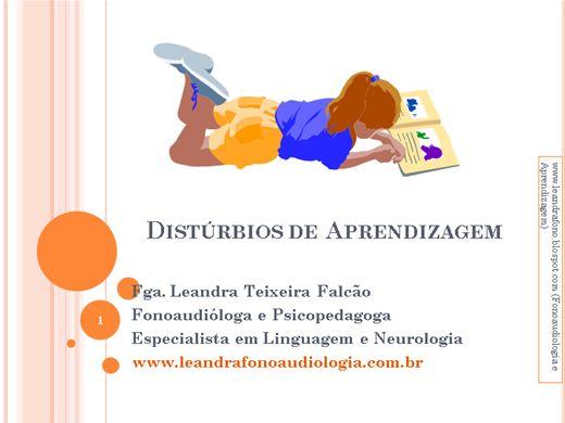 Curso Online de  Dificuldades de Aprendizagem Infantil