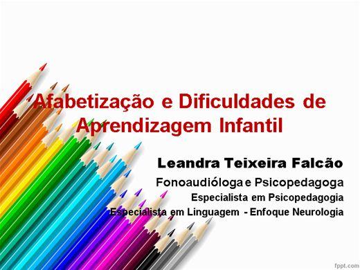 Curso Online de Alfabetização e Dificuldades de Aprendizagem Infantil