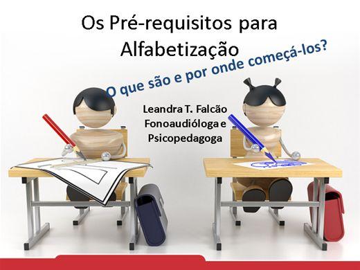 Curso Online de Pré-requisitos para Alfabetização