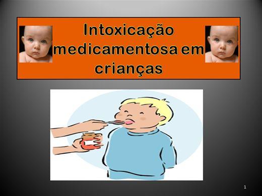 Curso Online de Intoxicação medicamentosa em crianças