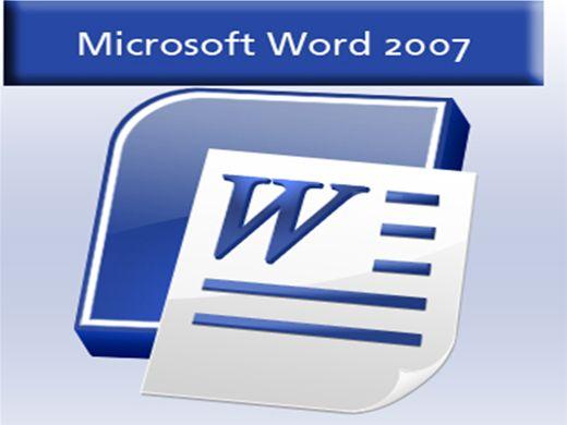 Curso Online de Microsoft Word 2007 (Básico)