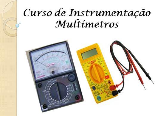 Curso Online de Curso de Instrumentação - Multímetros