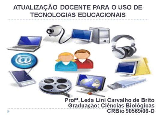 Curso Online de Atualização Docente Para o Uso de Tecnologias Educacionais