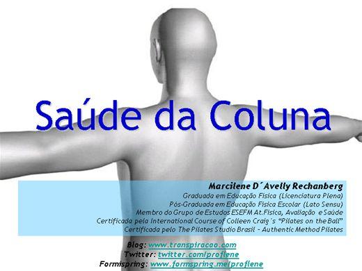 Curso Online de Saúde da coluna