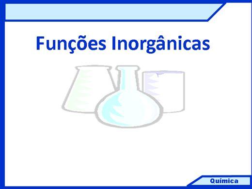 Curso Online de FUNÇÕES INORGÂNICAS