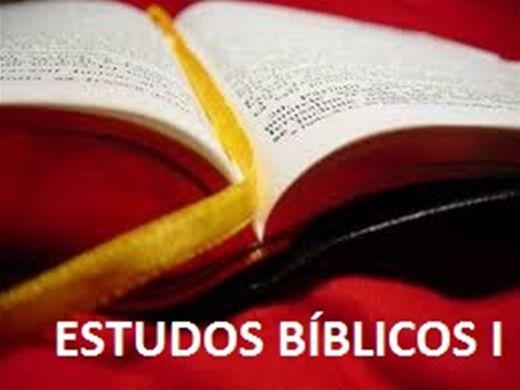 Curso Online de ESTUDO BÍBLICO I